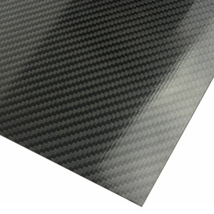 Twill Glossy Carbon Fiber Plate