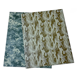 Camouflage Glass Fiber Plate